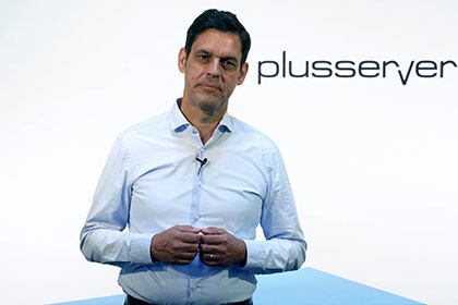 Screenshot PlusServer GmbH