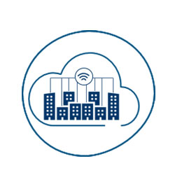 Icon Smart City-Datenplattform