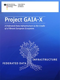 "Cover of the publication ""Project GAIA-X"""