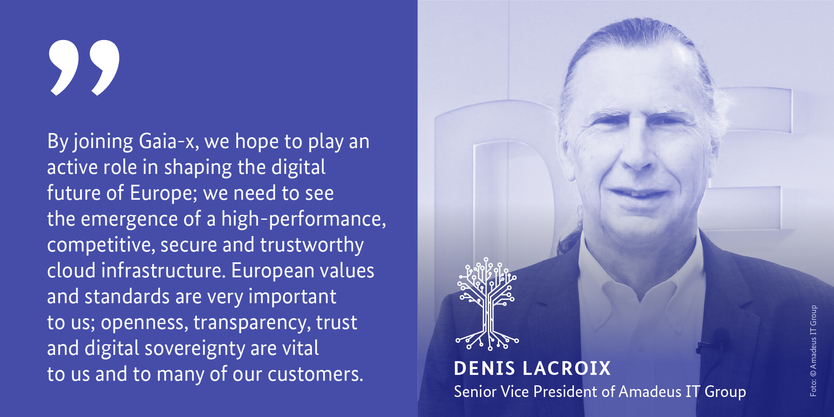 Denis Lacroix, Senior Vice President of Amadeus IT Group