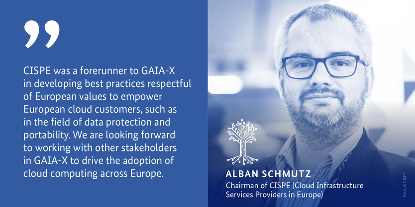 Alban Schmutz, Chariman of CISPE (Cloud Infrastructure Services Providers in Europe)