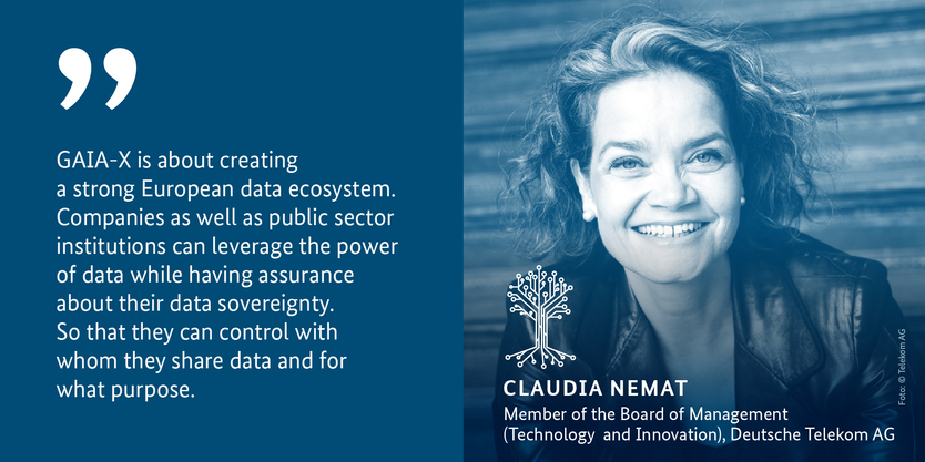 Claudia Nemat, Member of the Borad of Management (Technology and Innovation), Deutsche Telekom AG