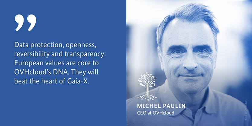 Michel Paulin, CEO at OVHcloud