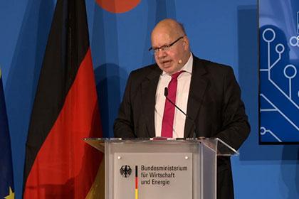 Screenshot Video GAIA-X: A Franco-German pitch towards a european data infrastructure - Ministerial talk
